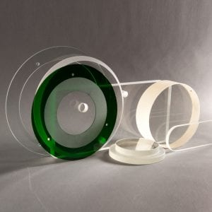 Industrial Glass Fabrication Samples